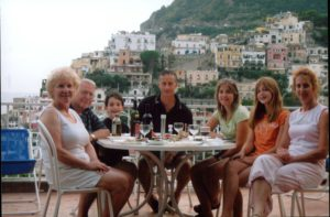 Whole Family Positano 2006